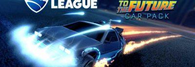 Vehiculul DeLorean din Back to the Future va fi inclus în Rocket League