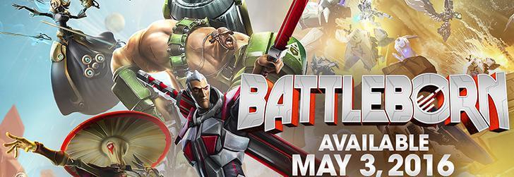 Battleborn a fost amânat pentru Mai 2016