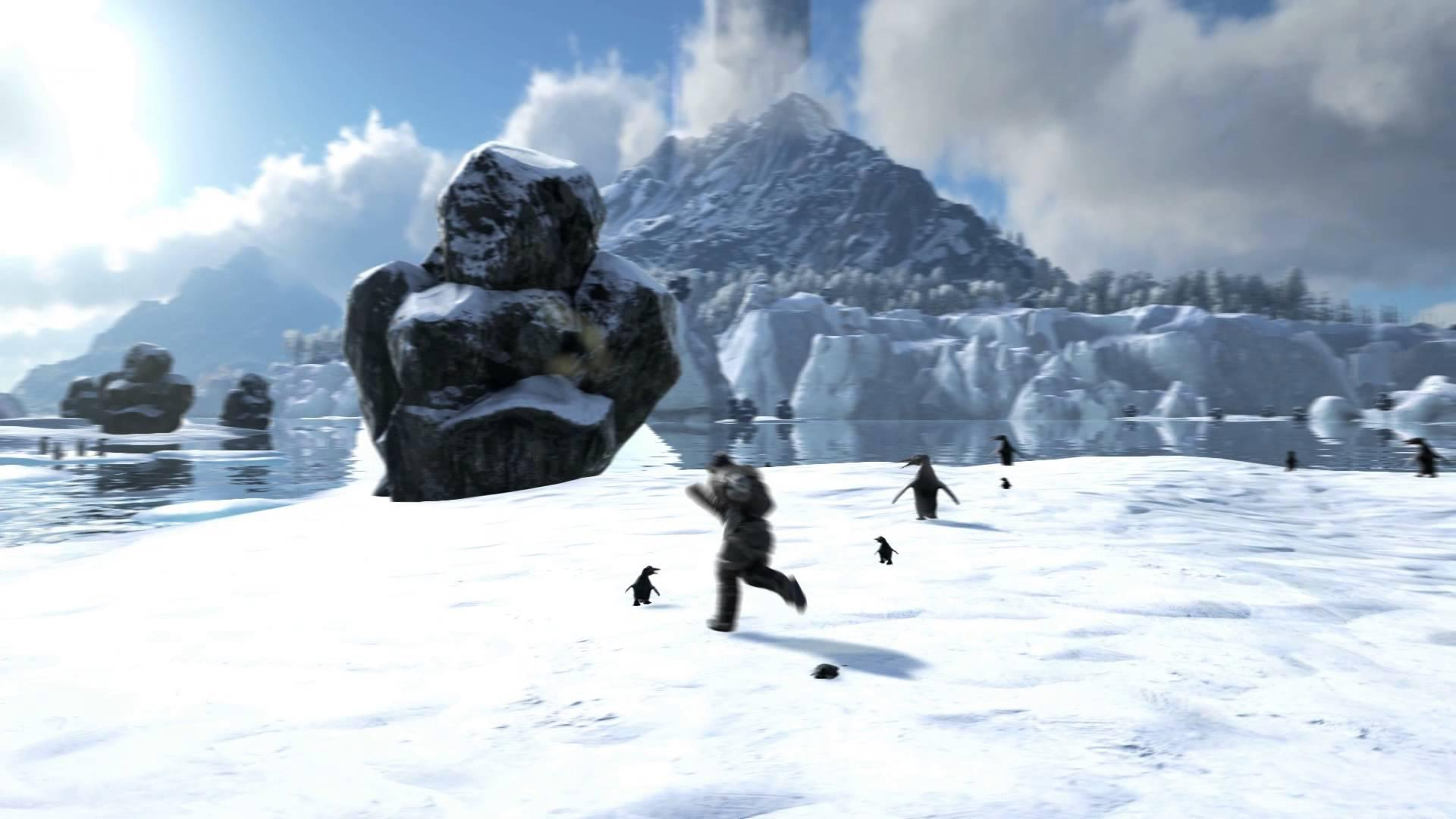 Ark: Survival Evolved primește update ce adaugă pinguini și pești pescari