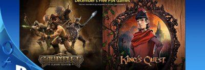 Iată jocurile gratuite în Decembrie 2015 pentru abonații PlayStation Plus