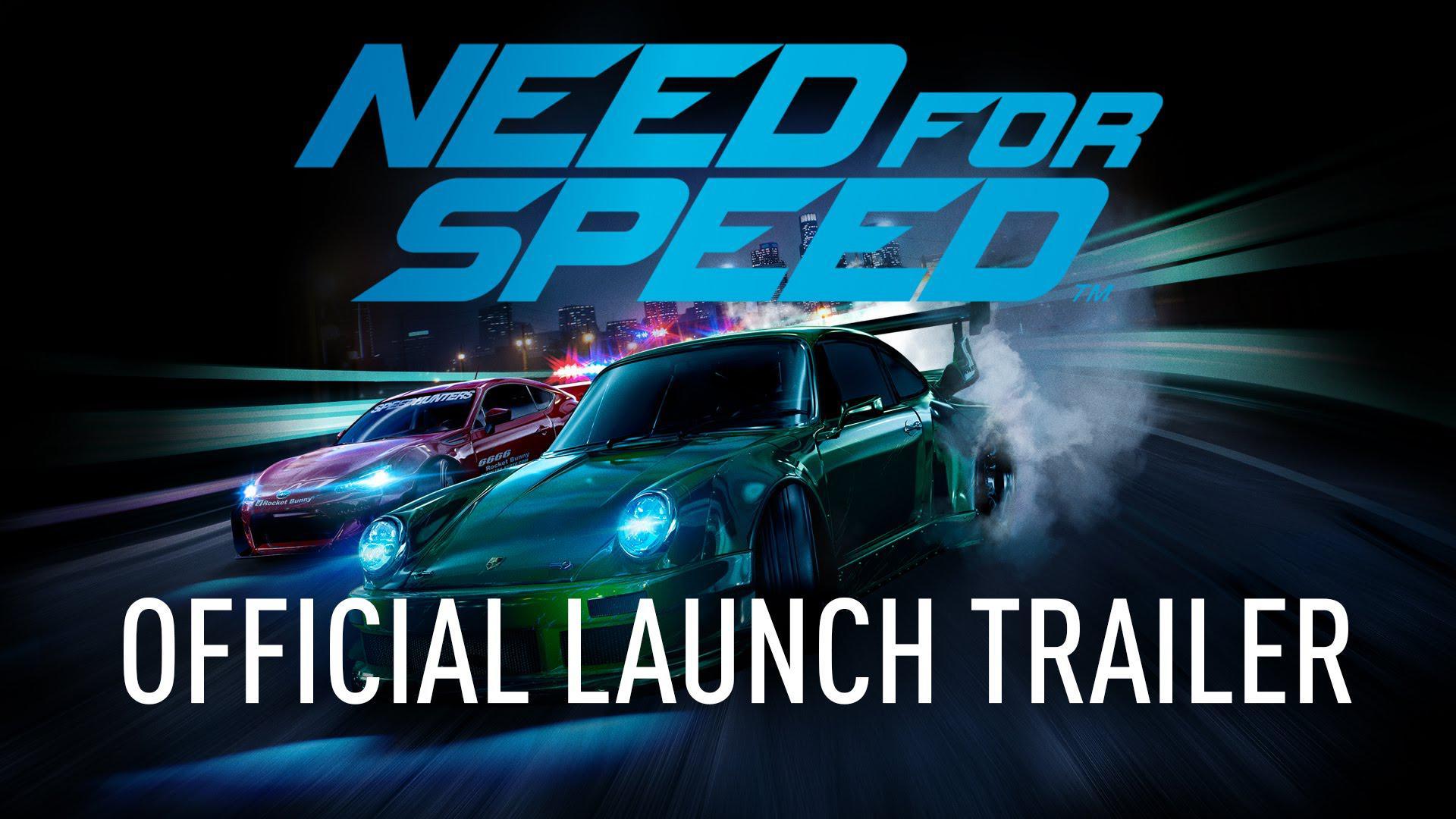 Trailerul de lansare pentru Need for Speed a fost publicat