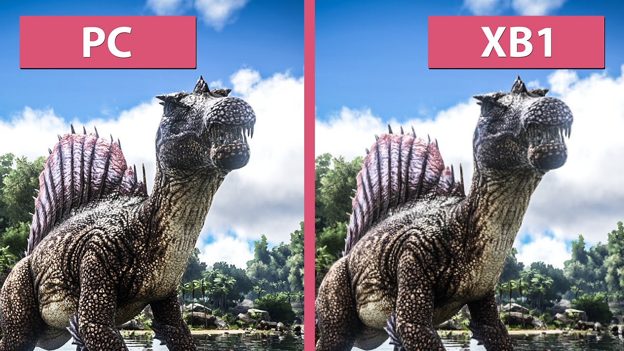 Video comparativ Xbox One vs PC pentru grafica din ARK: Survival Evolved