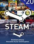 Steam Wallet Code 20 EUR