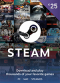 Steam Wallet Code 25 EUR