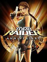 Tomb Raider Anniversary Box Art Coperta
