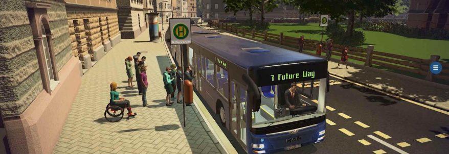 Bus Simulator 16 a primit trailer de lansare