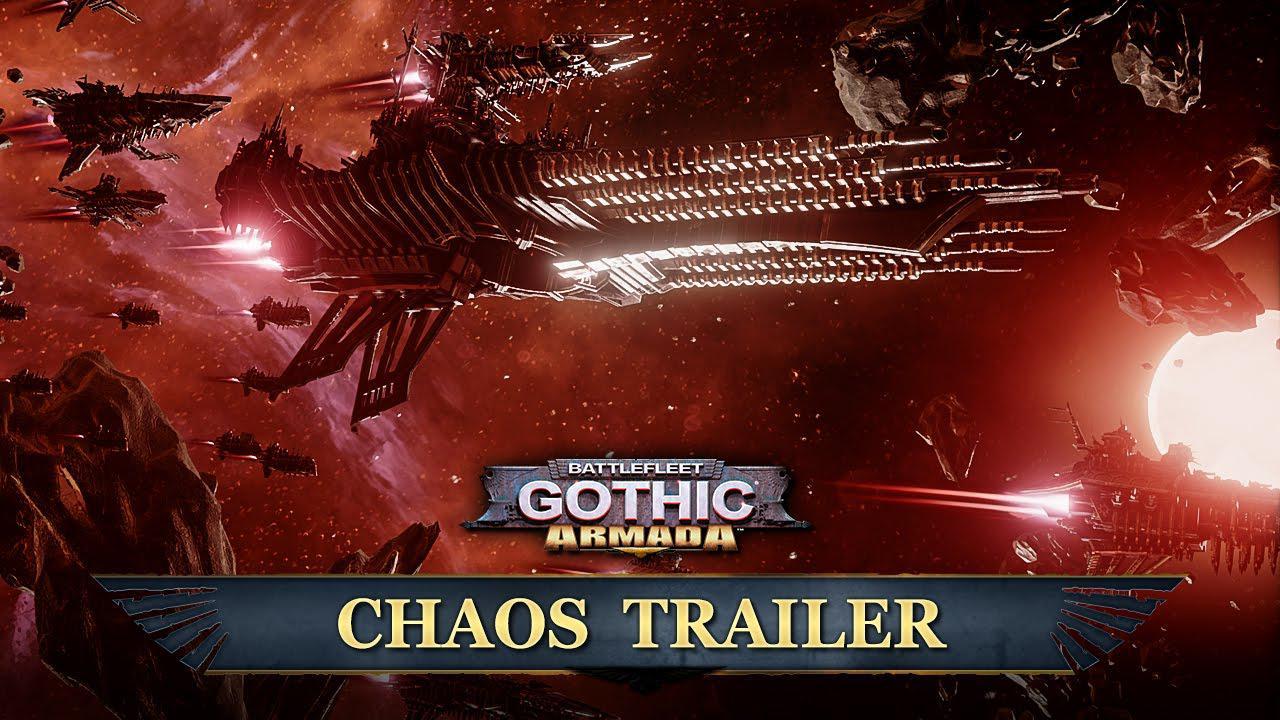 Facțiunea Chaos din Battlefleet Gothic: Armada prezentată