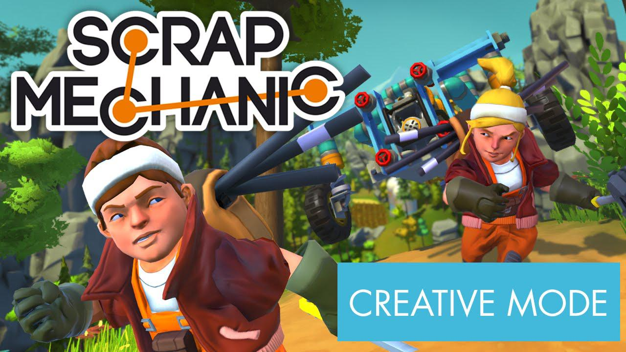 Scrap Mechanic – Trailer