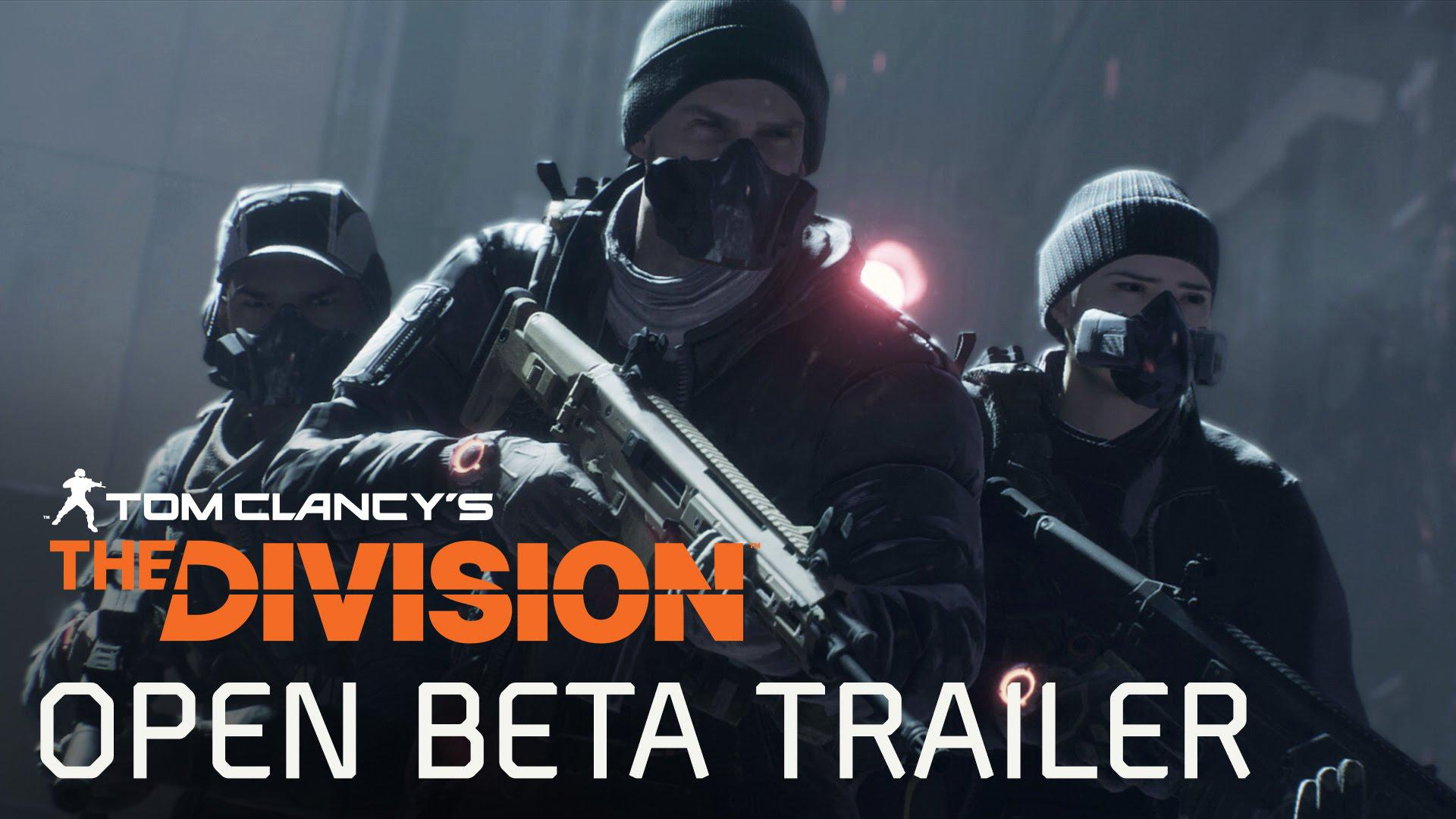 Trailer Open BETA Tom Clancy's The Division