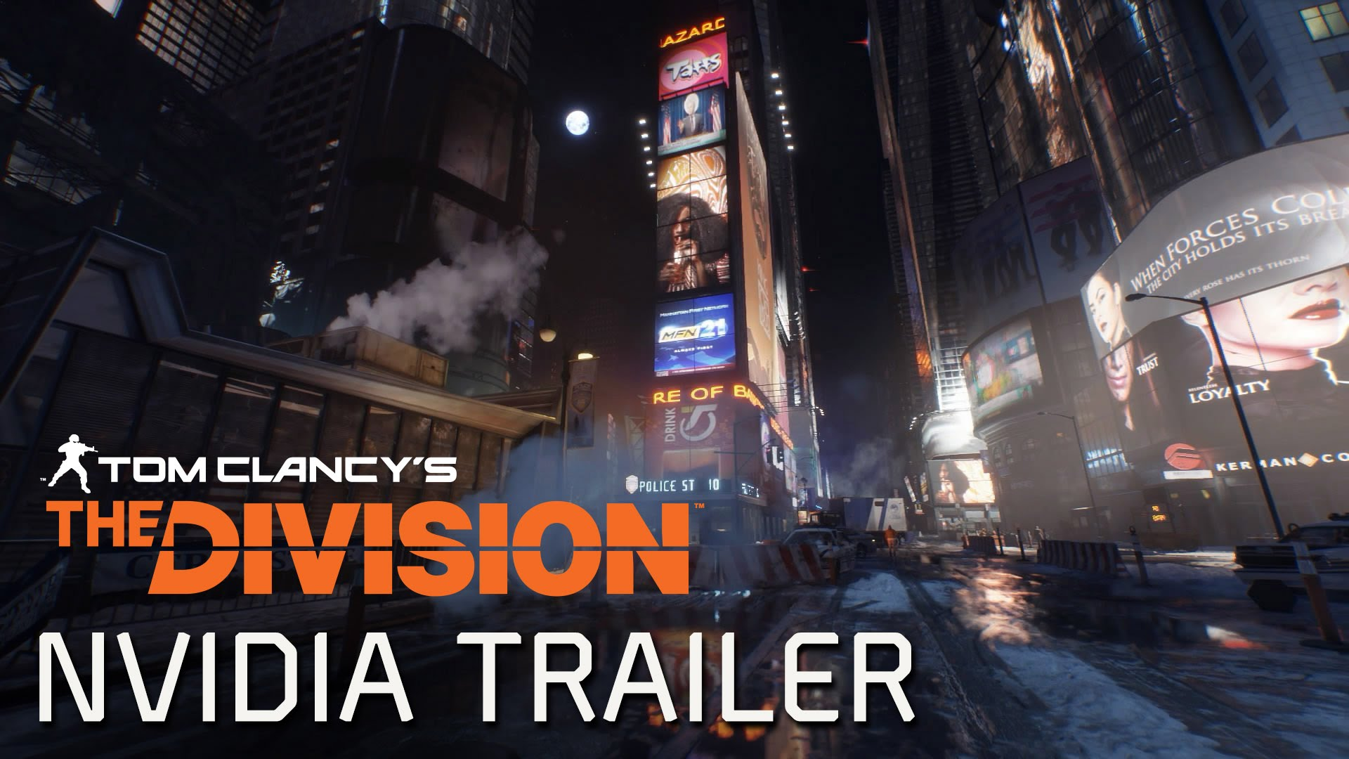 Tom Clancy's The Division – Nvidia GameWorks Trailer