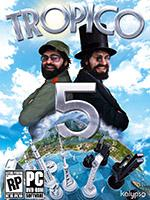 Tropico 5 PC Box Art Coperta