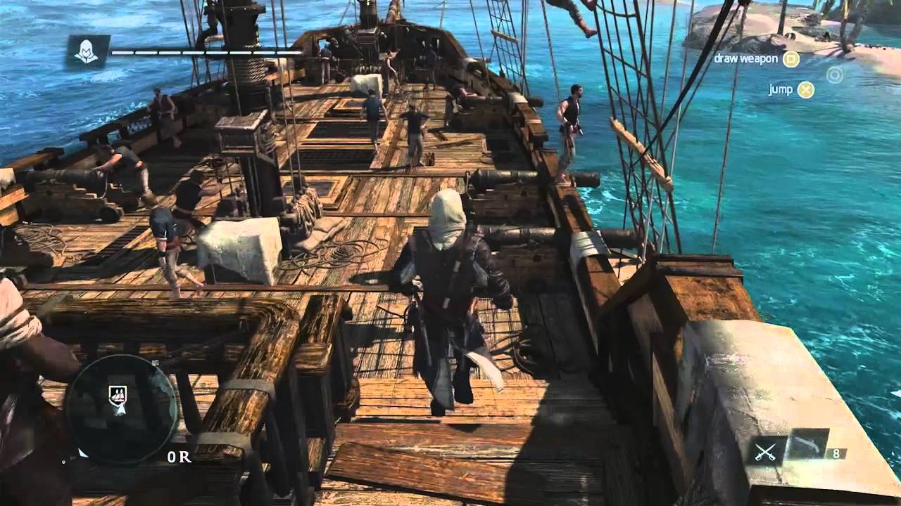 Assassin's Creed 4: Black Flag – 13 Minutes of Caribbean Open-World Gameplay