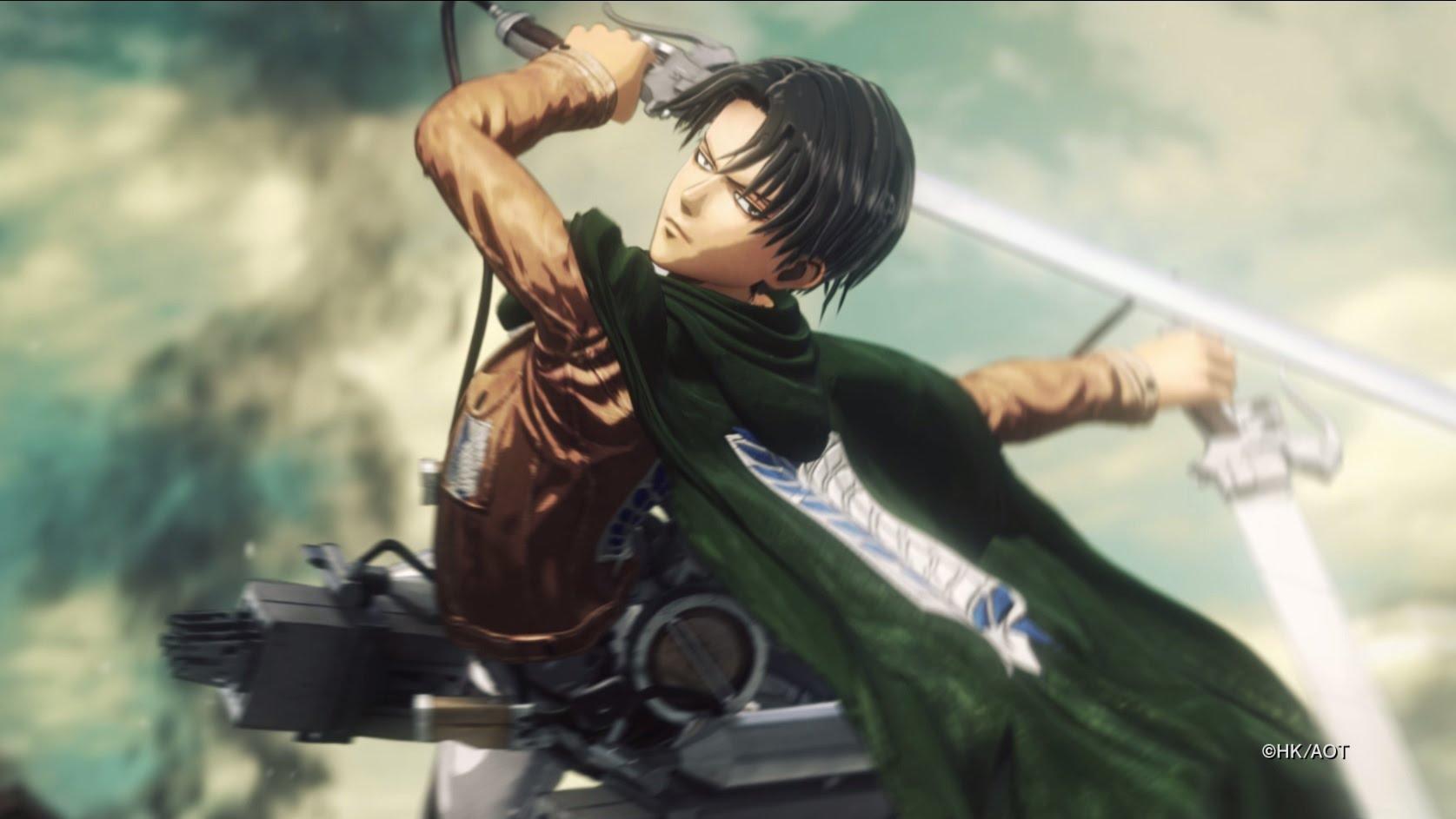 Attack on Titan primește trailer oficial de anunțare