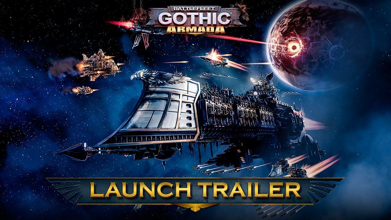Battlefleet Gothic: Armada a primit trailer de lansare