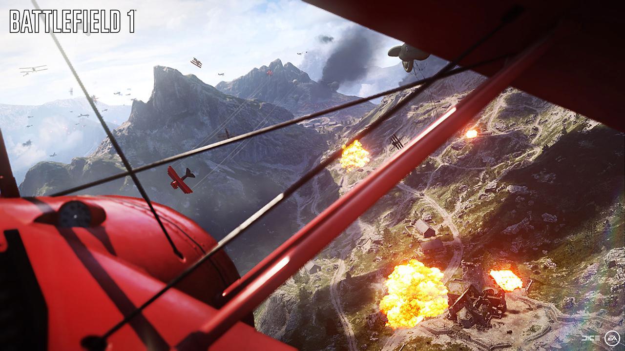 Imagini Battlefield 1