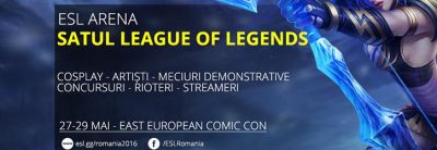 League of Legends confirmă prezența la Comic Con 2016