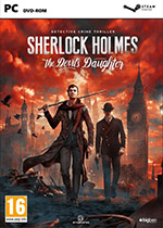 Sherlock Holmes The Devils Daughter PC Box Art Coperta