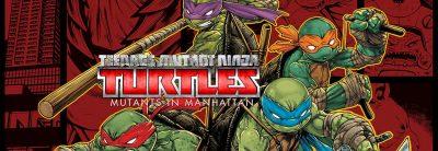 Teenage Mutant Ninja Turtles Mutants in Manhattan Logo