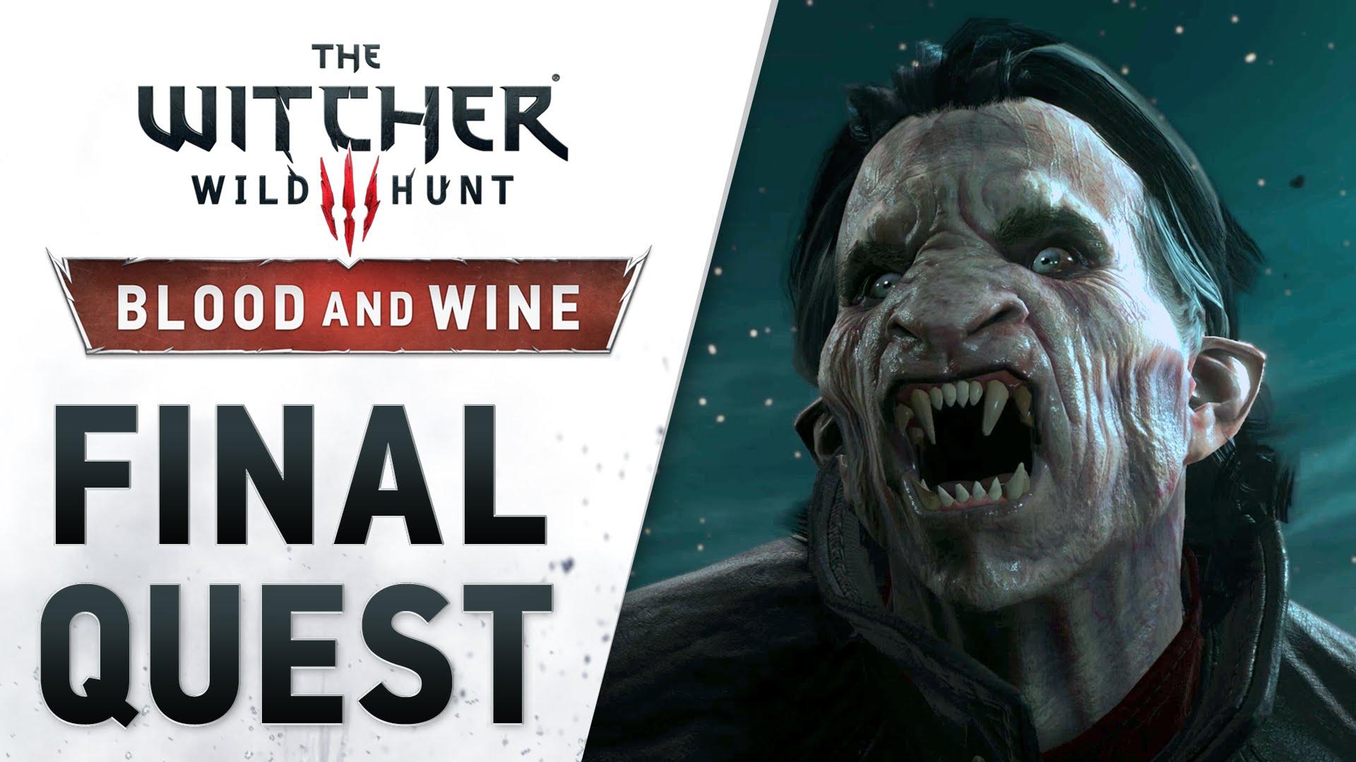 The Witcher 3: Blood and Wine a primit trailer de lansare