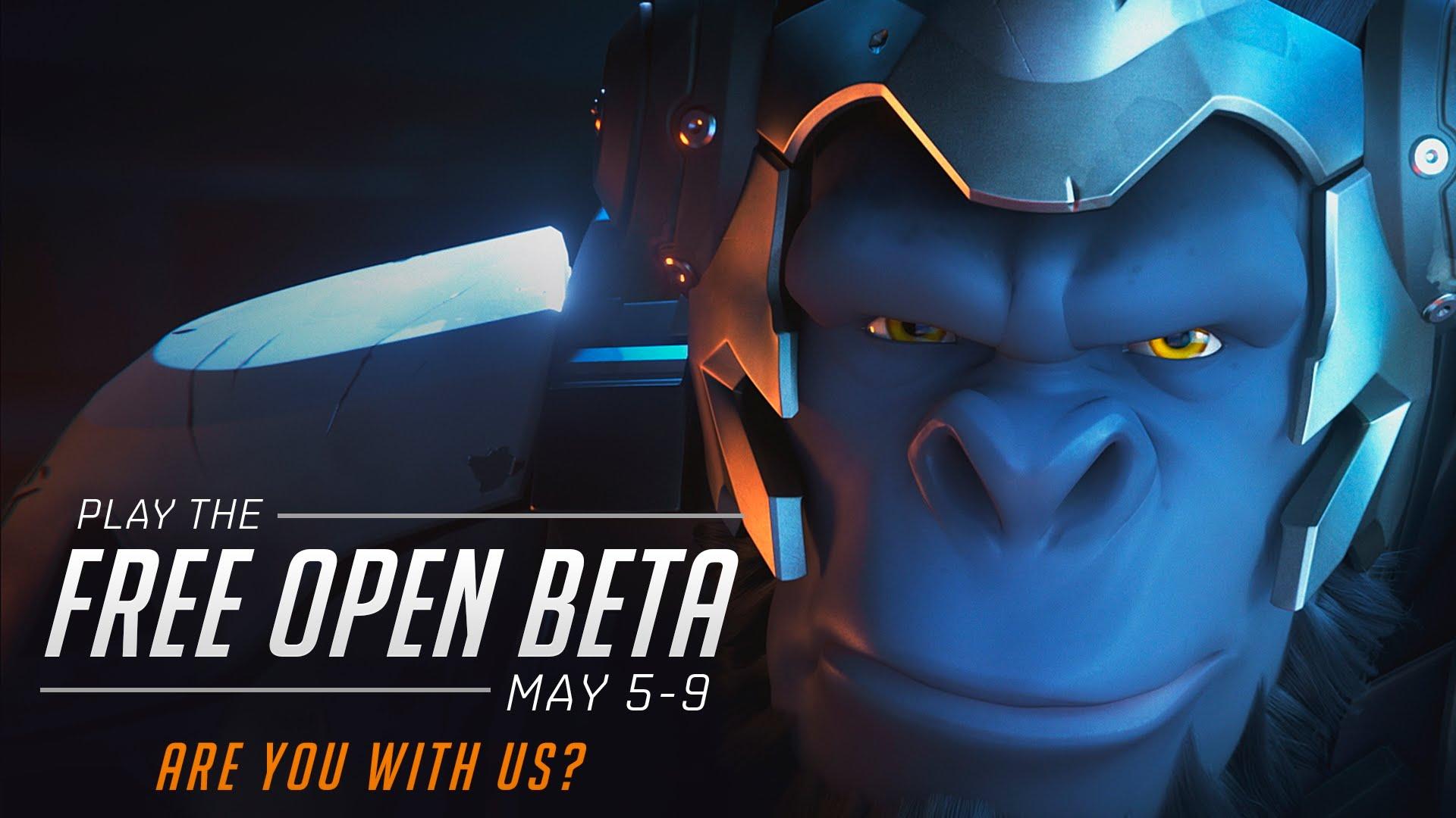 Winston ne amintește de testul Open Beta pentru Overwatch