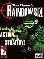 Tom Clancy Rainbow Six PC Box Art Coperta