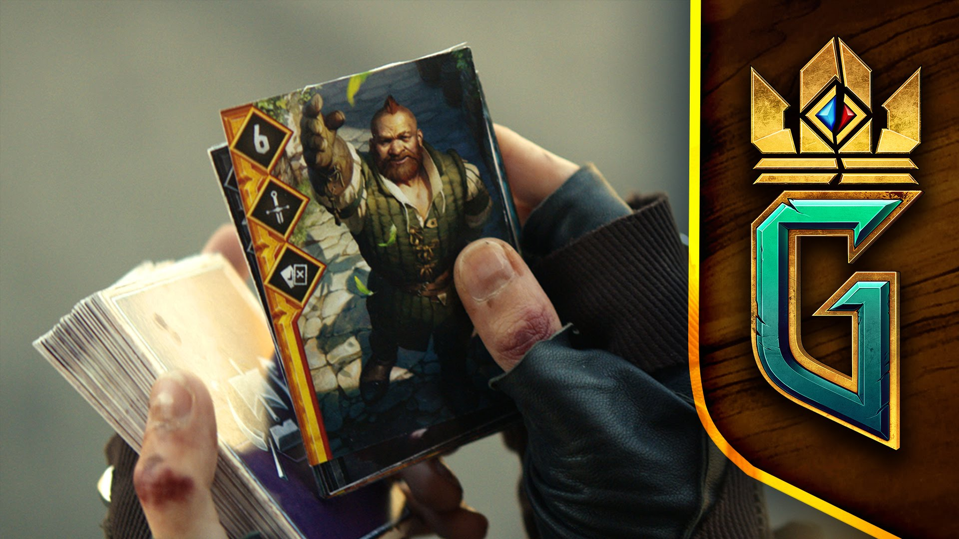 Gwent: The Witcher Card Game – Announcement Trailer