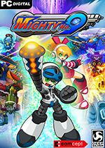 Mighty No 9 PC Box Art Coperta