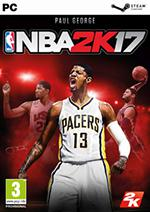 NBA 2K17 Box Art
