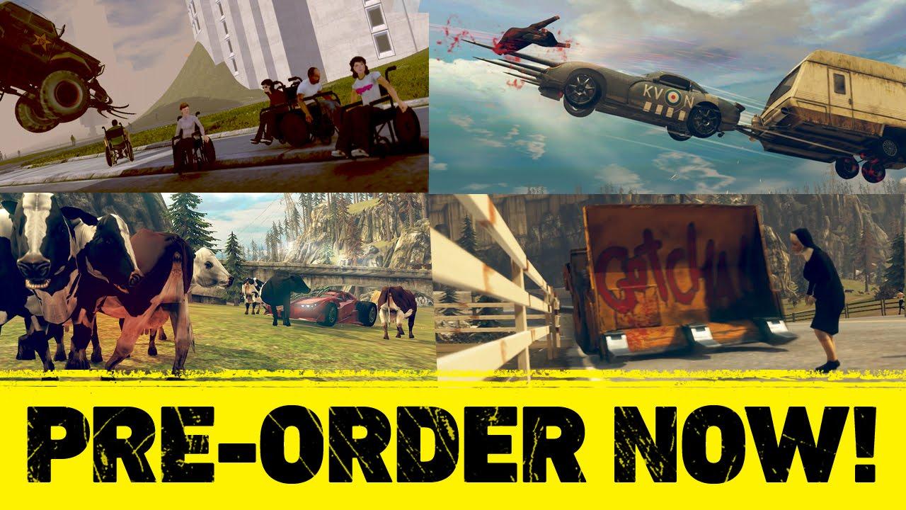 Carmageddon: Max Damage – Trailer
