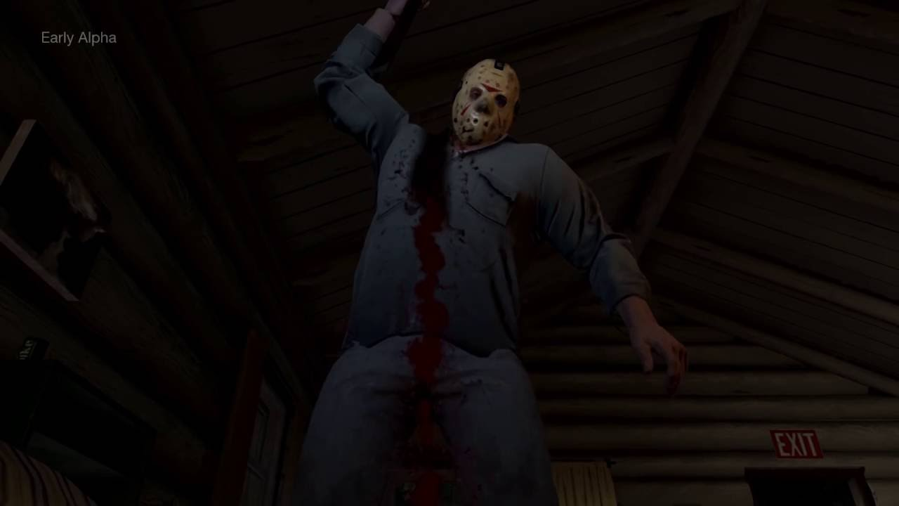 Friday the 13th: The Game – Gameplay E3 2016
