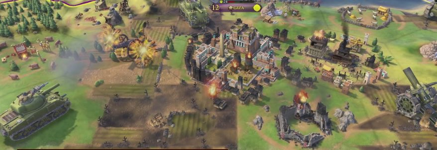 Sid Meier's Civilization VI - Walkthrough E3 2016
