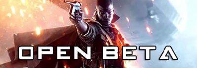 Battlefield 1 Open Beta 31 August