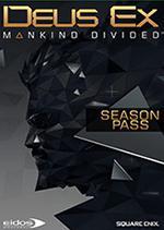 Deus Ex Mankind Divided PC Box Art Season Pass Coperta