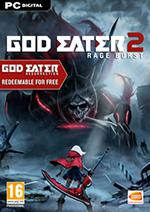 God Eater 2 Rage Burst Box Art