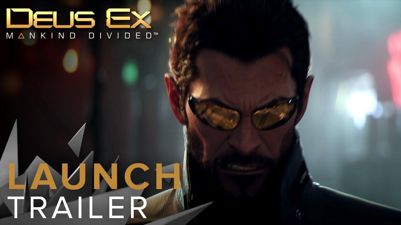Deus Ex: Mankind Divided a primit în sfârșit trailerul de lansare