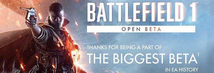 13,2 milioane de jucători au participat la testul Battlefield 1 Open Beta
