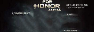 Testul Closed Alpha pentru For Honor poate fi acum accesat