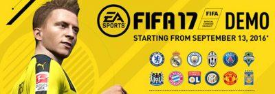 FIFA 17 DEMO este acum disponibil