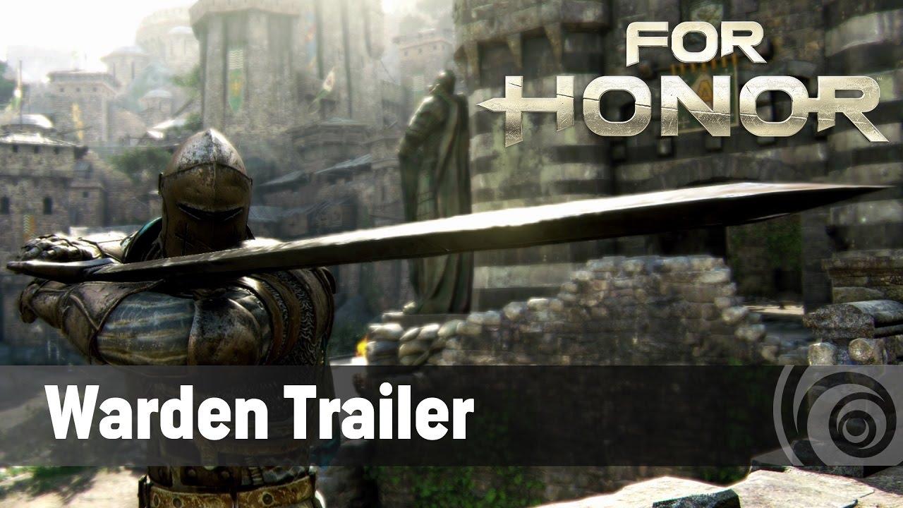 Trailer de prezentare a cavalerului Warden din For Honor