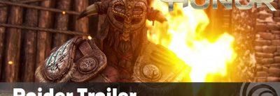 Trailer de prezentare a vikingului Raider din For Honor