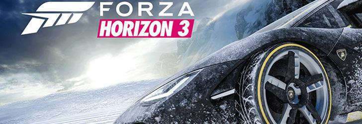 Forza Horizon 3 primește expansionul Blizzard Mountain