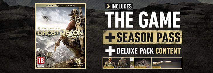 Continut Tom Clancy's Ghost Recon: Wildlands Deluxe Edition