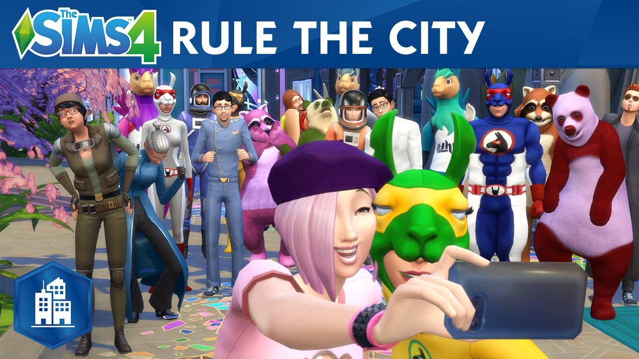Trailer de lansare pentru The Sims 4: City Living