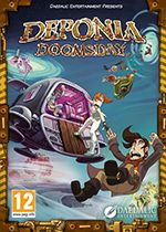 Deponia Doomsday PC Box Art Coperta