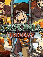 Deponia Trilogy PC Box Art Coperta