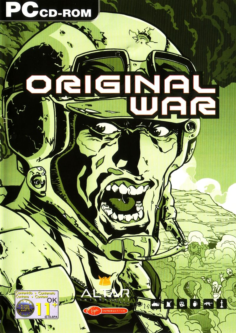 Original War PC Box Art Coperta