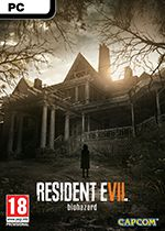 Resident Evil 7 Biohazard PC Box Art Coperta