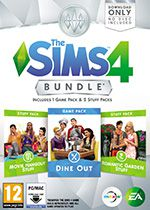 The Sims 4 DLC Bundle 3 PC Box Art Coperta