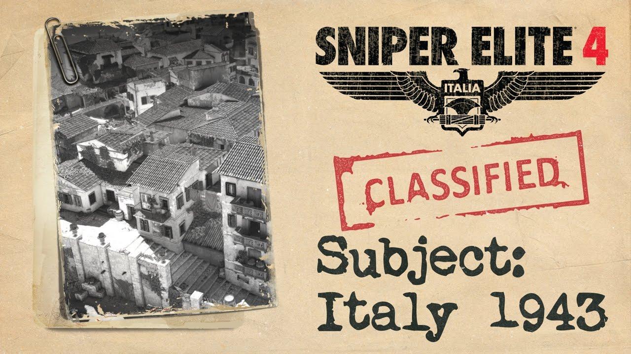 Sniper Elite 4 prezintă povestea jocului printr-un trailer