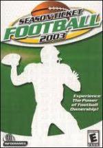 Season Ticket Football 2003